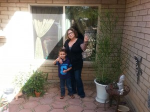 """Mrs. Marty Collins said: """"I want to thank Payless Thermo Windows & Doors for great service and a very good product. I really like"""